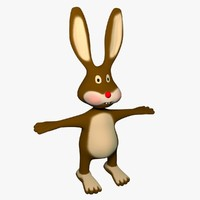 3d rabbit character