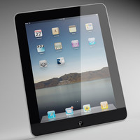 ipad apple 3d model