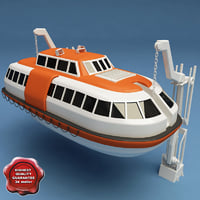 3d lifeboat v3 model