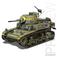 M3  - US Light Tank Stuart Mark1