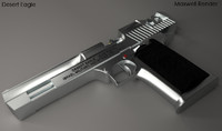 3d 3ds desert eagle pistol