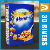 Box of muesli by 3DRivers