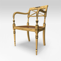 adams armchair 3d model