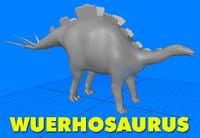 Wuerhosaurus Dinosaur