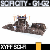 Xyff SciFi City G1 and G2