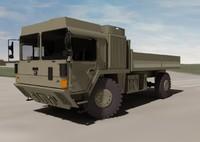 MAN HX 60 4X4 Military Truck System