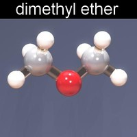 3ds max molecule dimethyl ether