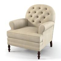 Marie`s corner Chelsea Upholstered Armchair