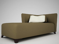 3d model italian sofa mobileffe elysees