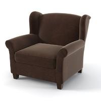 Marie`s corner augusta modern wing chair