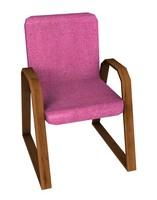 c4d cadeira