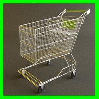 shopping cart trolley 3d model