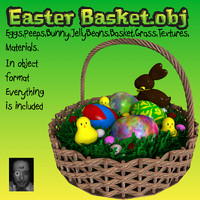 eggs basket 3d model