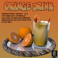 OrangeDrink.obj
