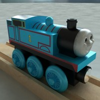 3d thomas tank engine wooden