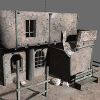 building games 3d obj