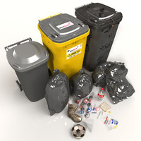 Wheelie Bin Kit With Refuse