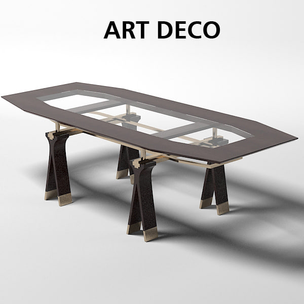 art deco oak design work meeting dining table office sc 1013.jpg