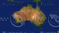 3d model australia maps
