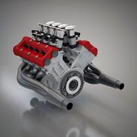 Compact V8 Engine