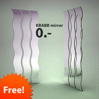 free 3ds mode ikea krabb mirror