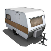 old caravan preview 3d 3ds
