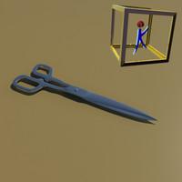 free max mode scissors