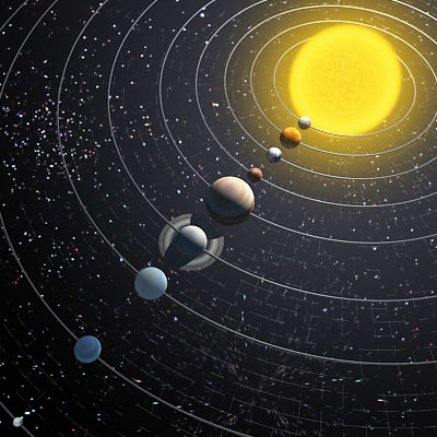 solar system of 3 d - photo #43
