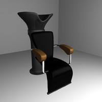 hairdresser / coiffeur chair