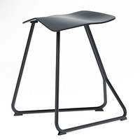 Triton Stool (Bar Chair) by ClassiCon with vray scene