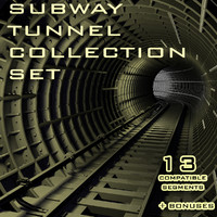 Subway Tunnel full collection set
