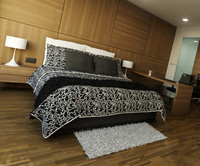 bed pillows comforter 3d max