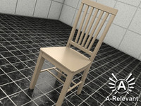 Chair 2 NoMat - chair model - 3ds max 2010