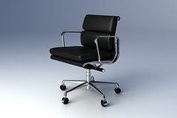 Eames Softpad Group Management Chair