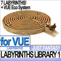 labyrinth library vol 1 3d model