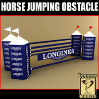 lightwave horse jumping obstacle