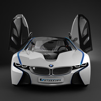 concept car bmw efficient 3d model