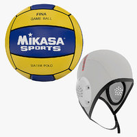 Water Polo Equipment - Ball n Cap