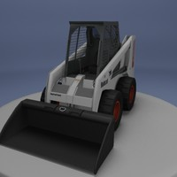 bobcat skid steer 3d model