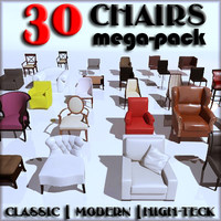 Chairs Mega-Pack