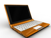 laptop notebook 3d model