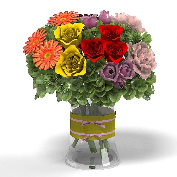 rose gerbera hydrange fashionista bloom bouquet .jpg