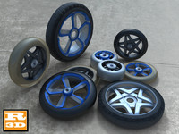 8 Skate Wheels collection
