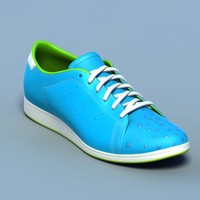 Sports shoes #05 blue white