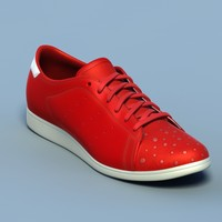 Sports shoes #05 red white