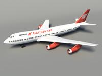 aircraft 3d fbx