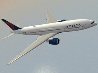 B 777-200 ER Delta (new colors)