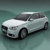 3d model of audi a1 etron