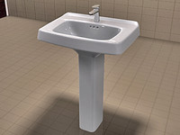 American Standard Sink Set