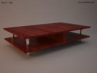 bacci coffee table 3d max